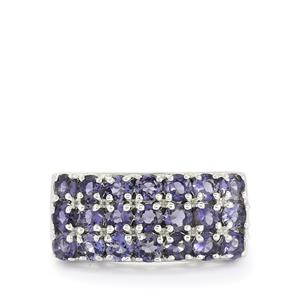 1.92ct Bengal Iolite Sterling Silver Ring