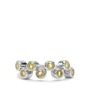 1.23ct Ambilobe Sphene Sterling Silver Ring