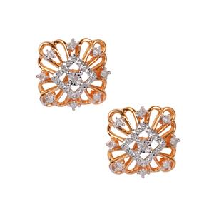 Diamond Earrings in 10K Gold 0.10ct