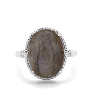 10.44ct Labradorite Sterling Silver Ring