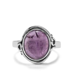 4.18ct Kenyan Amethyst Sterling Silver Ring