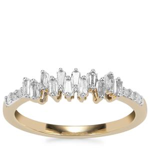 Diamond Ring in 10k Gold 0.25ct
