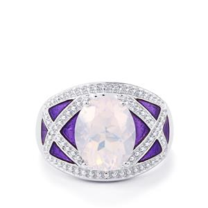 3.27ct Rio Grande Lavender Quartz Sterling Silver Ring