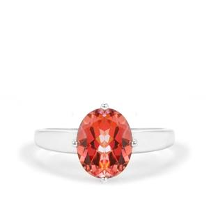 Mystic Twilight Topaz Ring in Sterling Silver 3.09cts