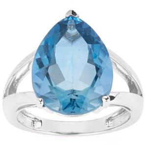 9.89ct Colour Change Fluorite Sterling Silver Ring