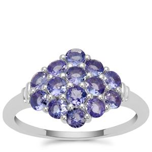 Tanzanite Ring in Sterling Silver 1.20cts