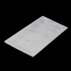 Rectangle Platter made of Banswara Marble (Color White)