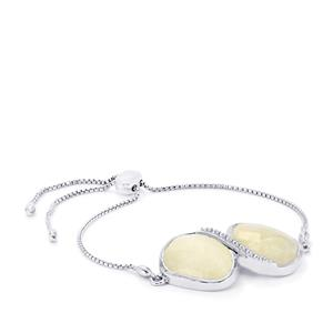 Rainbow Moonstone Slider Bracelet in Sterling Silver 27cts