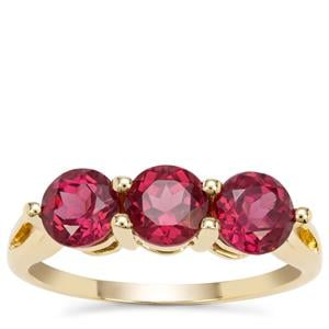 Malawi Garnet Ring in 9K Gold 2.48cts