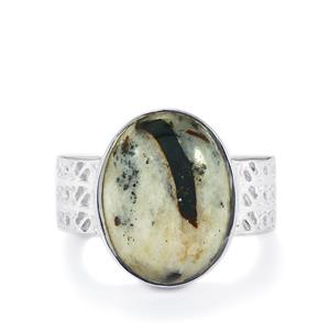 10ct Astrophyllite Sterling Silver Ring