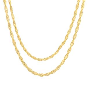 "30"" Midas Couture Double Cordino Chain 4.90g"