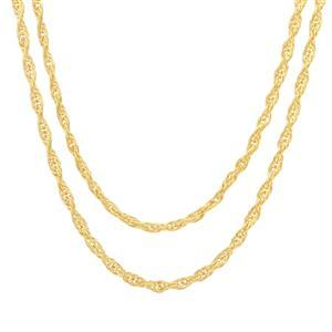 "30"" Midas Couture Double Cordino Chain 4.90g"