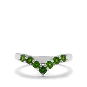 0.67ct Chrome Diopside Sterling Silver Ring