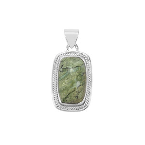 11ct Chemin Opal Sterling Silver Aryonna Pendant