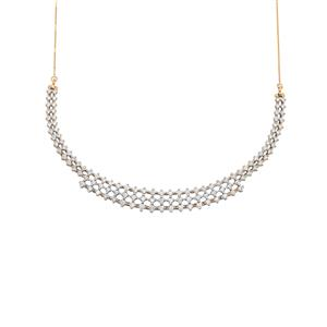 Diamond Necklace in 18K Gold 3.60ct