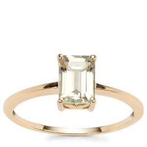 Csarite® Ring in 10K Gold 1.19cts