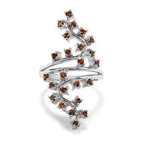 0.86ct Sopa Andalusite Sterling Silver Ring