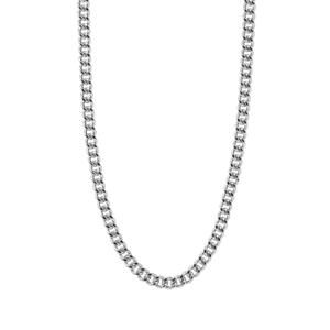 "30"" Sterling Silver Classico Diamond Cut Curb Chain 1.63g"