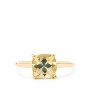 2ct Serenite 10K Gold Ring