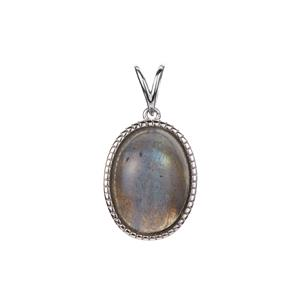 Labradorite Pendant in Sterling Silver 8.45cts
