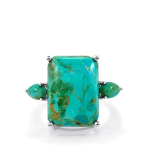 11.88ct Cochise Turquoise Sterling Silver Ring