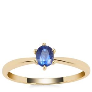 Nilamani Ring in 9K Gold 0.51ct