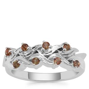 Sopa Andalusite Ring in Sterling Silver 0.29ct