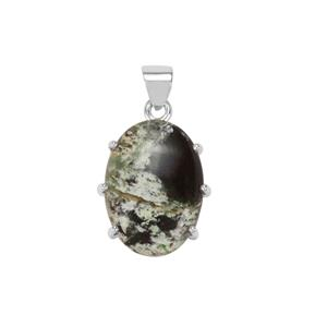 Opal Chalcedony Pendant in Sterling Silver 16cts