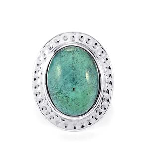 13ct Tibetan Turquoise Sterling Silver Aryonna Ring