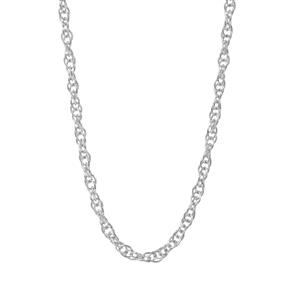 "18"" Sterling Silver Classico Prince of Wales Chain 1.16g"