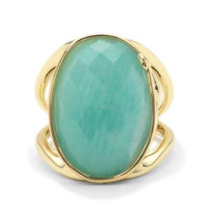 11.93ct Amazonite Midas Ring