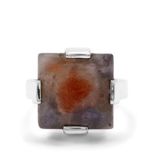 11.50ct Iolite Sunstone Sterling Silver Aryonna Ring