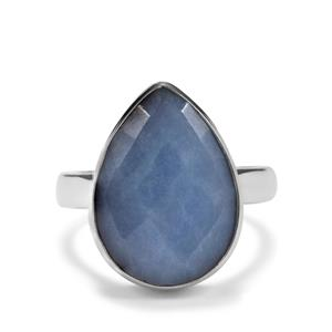9.18ct Angelite Sterling Silver Aryonna Ring