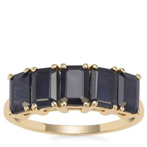 Ethiopian Sapphire Ring in 9K Gold 3.58cts