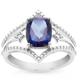 2.40ct Royal Blue Topaz Sterling Silver Ring