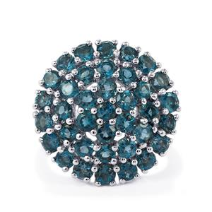 Marambaia London Blue Topaz Ring in Sterling Silver 4.96cts