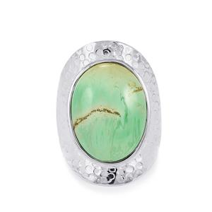 Australian Variscite Ring in Sterling Silver 11.50cts