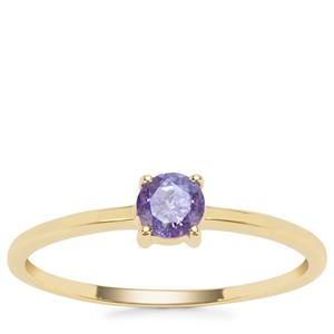 Tanzanite Ring in 9K Gold 0.32cts