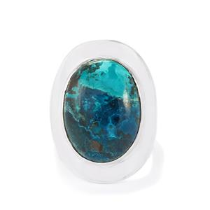 14.00ct Chrysocolla Sterling Silver Aryonna Ring