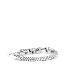 Sterling Silver Altro Rope Bracelet 15.25g