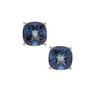 7.46ct Hope Topaz Sterling Silver Earrings
