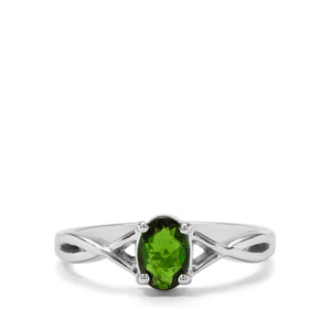 0.73ct Chrome Diopside Sterling Silver Ring