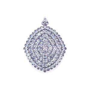 Tanzanite Pendant in Sterling Silver 16.77cts
