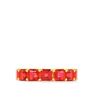 Cruzeiro Topaz Ring  in Gold Vermeil 11.28cts