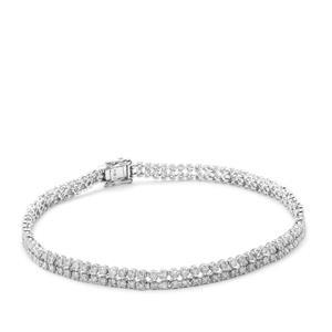 Diamond Bracelet in 9K White Gold 2.41cts