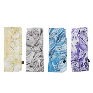 Destello Colours of Nature Agate Stone print scarf (4 Colors available)