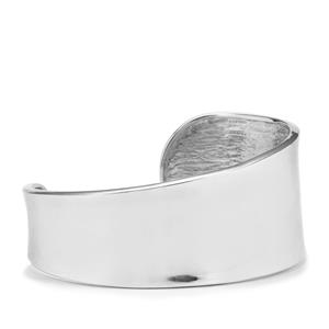 Timeless Elegance Cuff Bangle in Sterling Silver