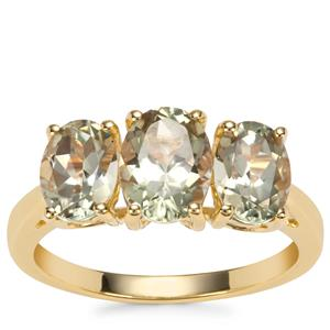 Csarite® Ring in 9K Gold 3.03cts
