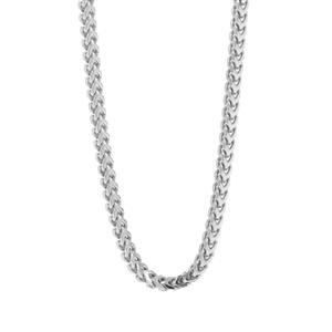 "18"" Sterling Silver Tempo Franco Station Chain 3.83g"