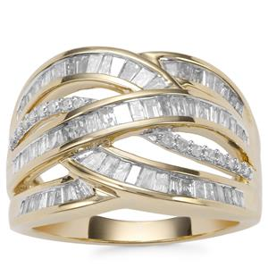 Diamond Ring in 10K Gold 1.05ct